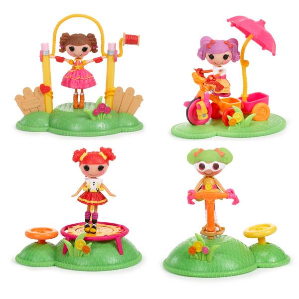 Lalaloopsy Mini 529507 Лалалупси Мини Веселый спорт (в ассортименте) кукла lalaloopsy littles праздничная смешинка 539766