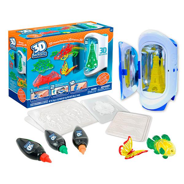3D Magic 81000_9 Набор для создания объемных моделей 3D Maker