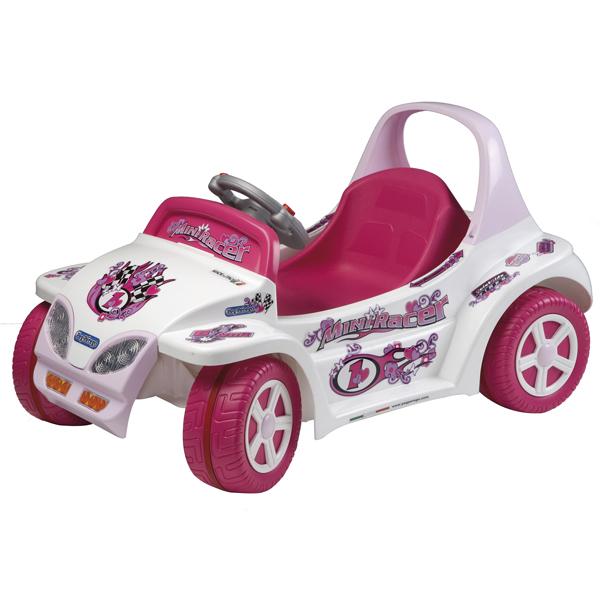 Детский электромобиль Peg-Perego ED1103 Mini Racer Pink
