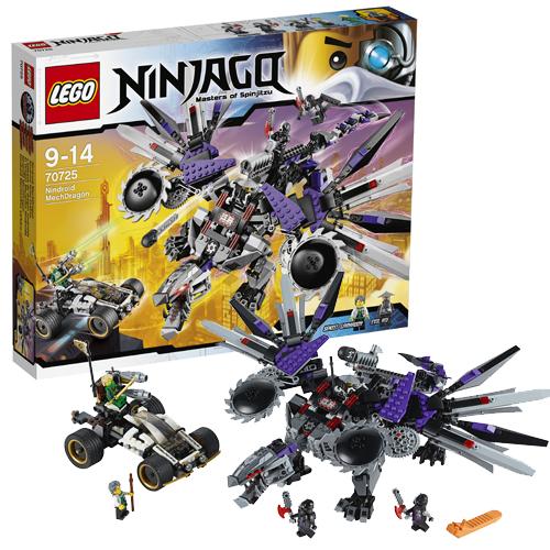 Конструктор Lego Ninjago 70725 Лего Ниндзяго Дракон-ниндроид
