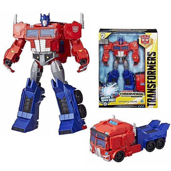 Hasbro Transformers E1885/E2067 Трансформер Кибервселенная 30 см Оптимус Прайм трансформер transformers cyberverse optimus prime e1885 e2067
