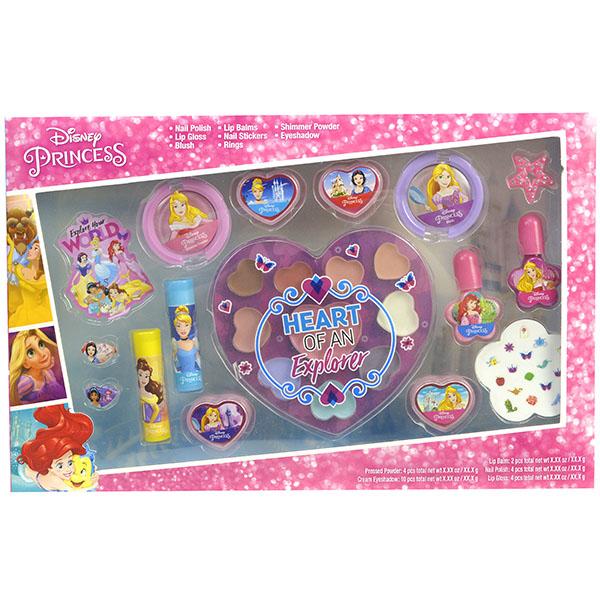 Markwins 1599027E Princess Игровой набор детской декоративной косметики для лица и ногтей