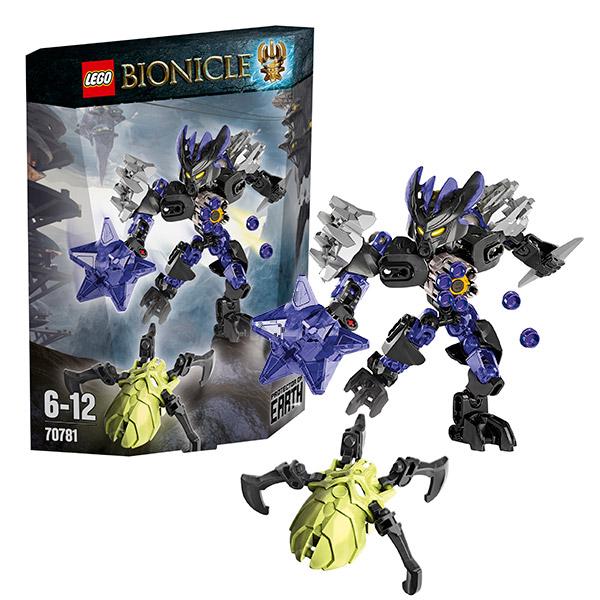 Lego Bionicle 70781 Конструктор Лего Бионикл Страж земли