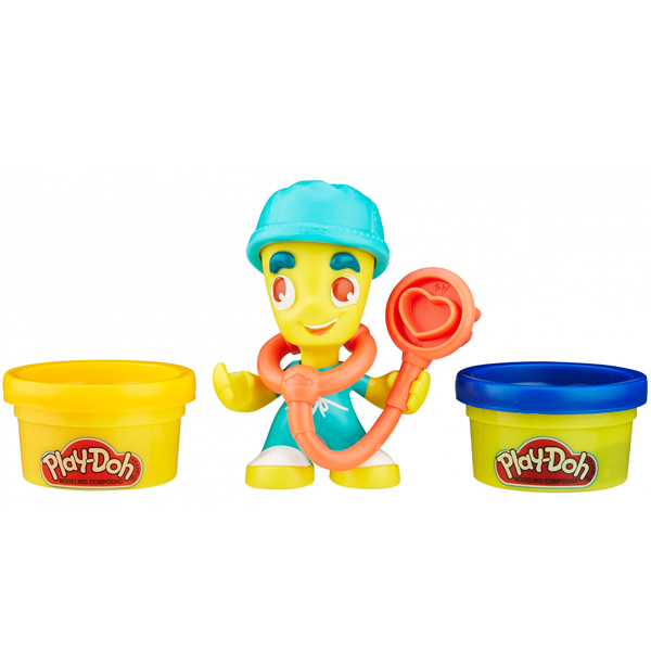 Hasbro Play-Doh B5959N Игровой набор Транспортные средства + фигурки