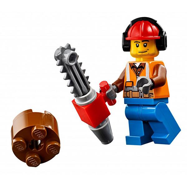 Lego City 60181 Конструктор Лего Город Лесной трактор