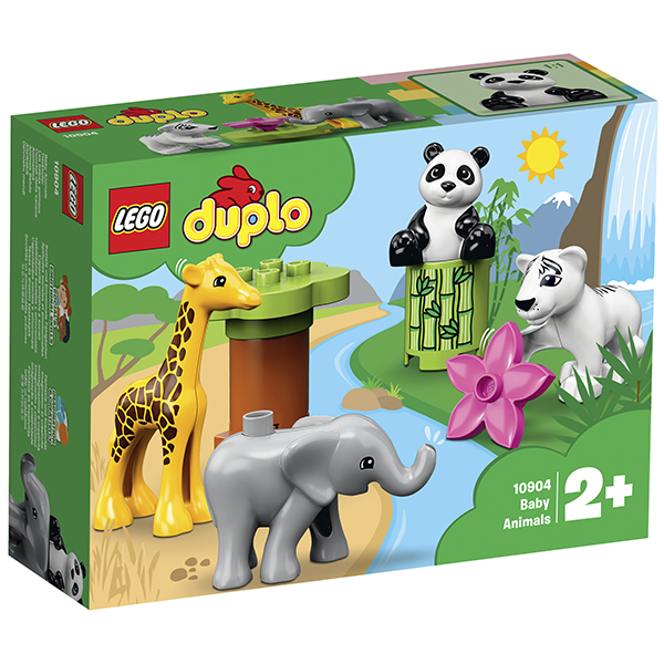 LEGO DUPLO 10904 Конструктор ЛЕГО ДУПЛО Детишки животных