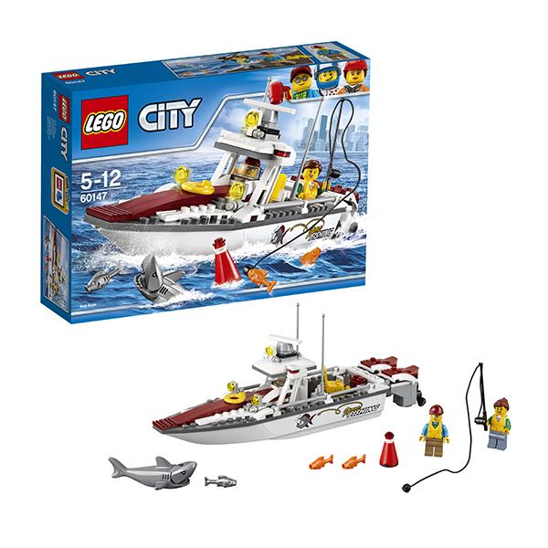 Lego City 60147 Лего Город Рыболовный катер lego конструктор город полицейский патрульный катер
