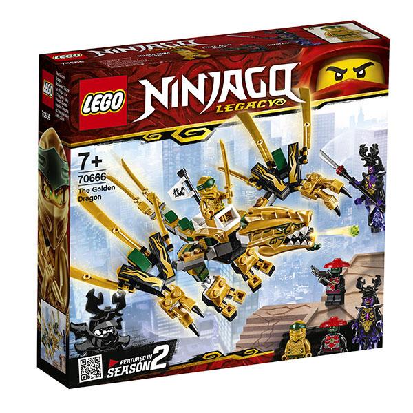 LEGO Ninjago 70666 Конструктор ЛЕГО Ниндзяго Золотой Дракон