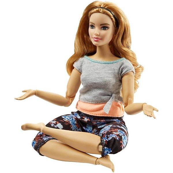 Mattel Barbie FTG84 Барби Безграничные движения Шатенка