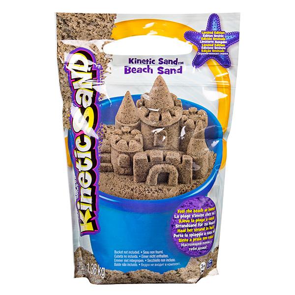Kinetic sand 71435 Кинетик сэнд Морской песок 1,4 кг коричневый kinetic sand 71417 const кинетик сэнд игровой набор c формочками 285 г