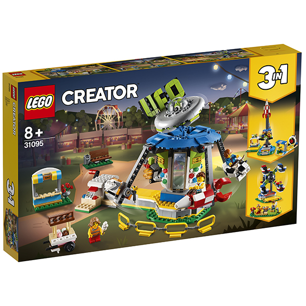 LEGO Creator 31095 Конструктор ЛЕГО Криэйтор Ярмарочная карусель