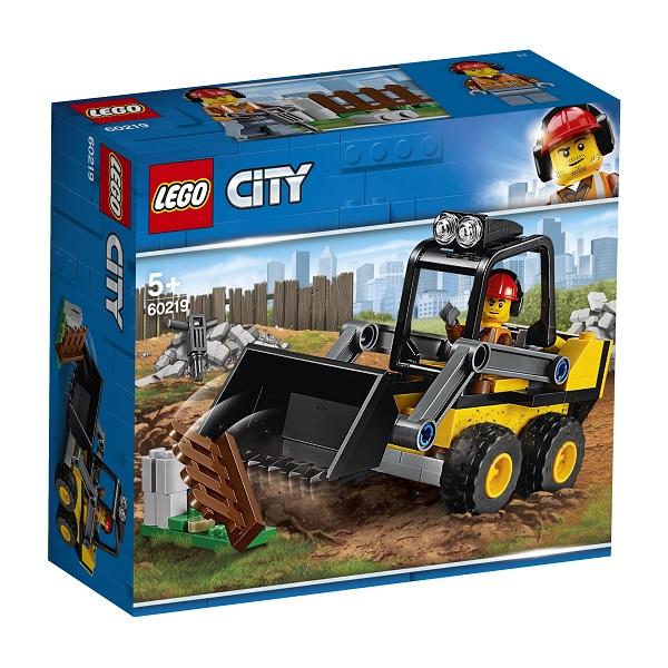 LEGO City 60219 Конструктор ЛЕГО Город Транспорт: Строительный погрузчик