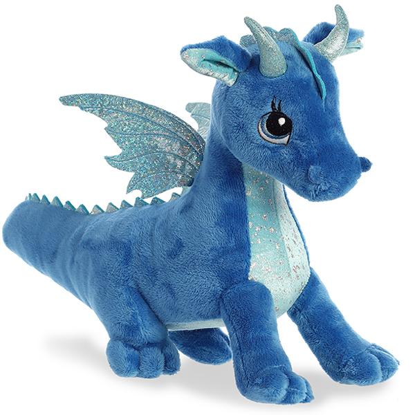 Aurora 170619A Дракон синий, 30 см