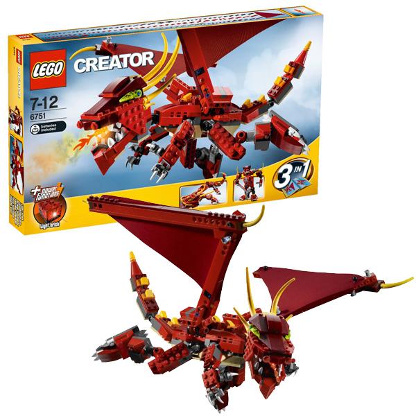 Конструктор Лего Криэйтор 6751 Огненная легенда