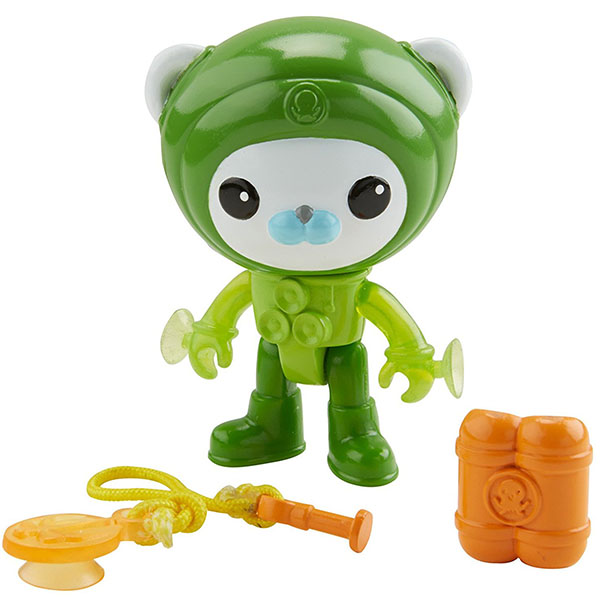 Mattel Octonauts CDP11 Октонавты Капитан Барнакл в костюме с присосками maintenance tank chip resetter for epson stylus pro 3800 3800c 3850 3880 3890 3885 printer chip resetter reset oem chip