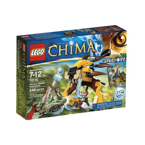 Lego Legends of Chima 70115 Конструктор Финальный поединок