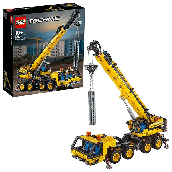 LEGO Technic 42108 Конструктор ЛЕГО Техник Мобильный кран lego technic 42092 конструктор лего техник спасательный вертолёт