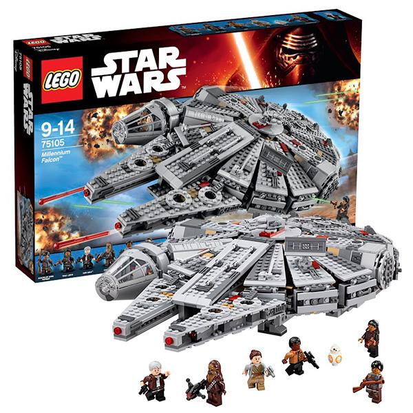 Lego Star Wars 75105 Лего Звездные Войны Сокол Тысячелетия фигура star wars звездные войны хан соло 79 см