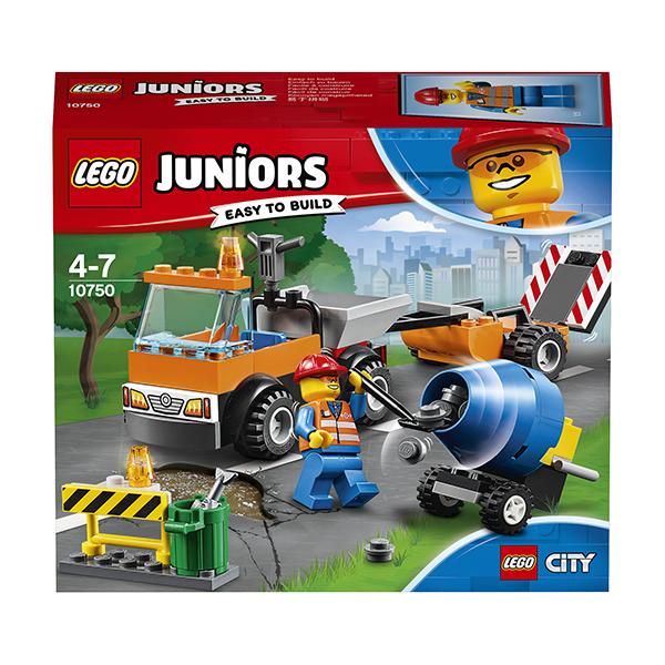 LEGO Juniors 10750 Конструктор Лего Джуниорс Грузовик дорожной службы