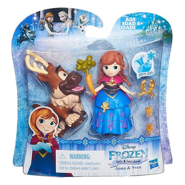 Hasbro Disney Princess B5185 Маленькие куклы Холодное сердце с другом (в ассортименте)