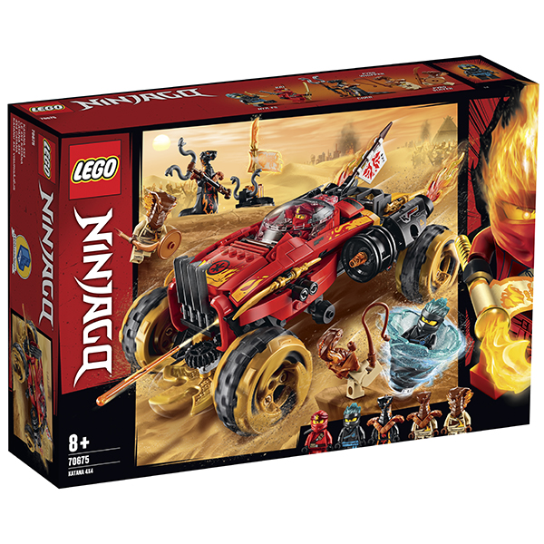 LEGO Ninjago 70675 Конструктор ЛЕГО Ниндзяго Внедорожник Катана 4x4