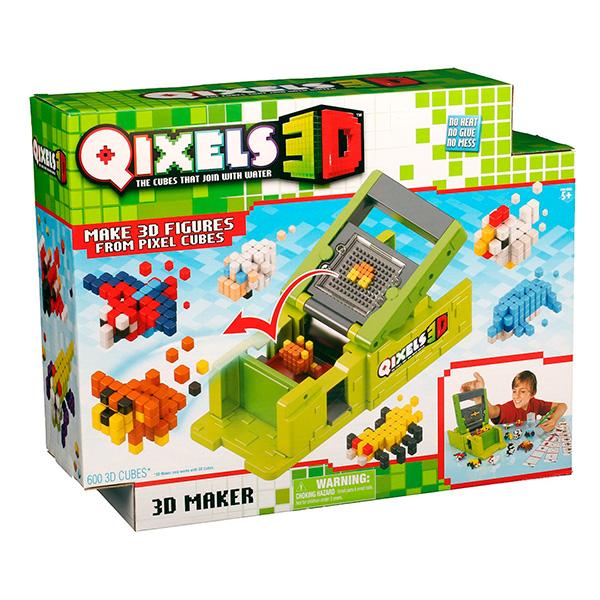 b7f72d813b3c ... Qixels 87053 Квикселс Набор для творчества Машинка для создания 3D  фигурок