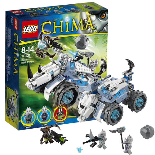 Lego Легенды Чима 70131 Конструктор Камнемет Рогона