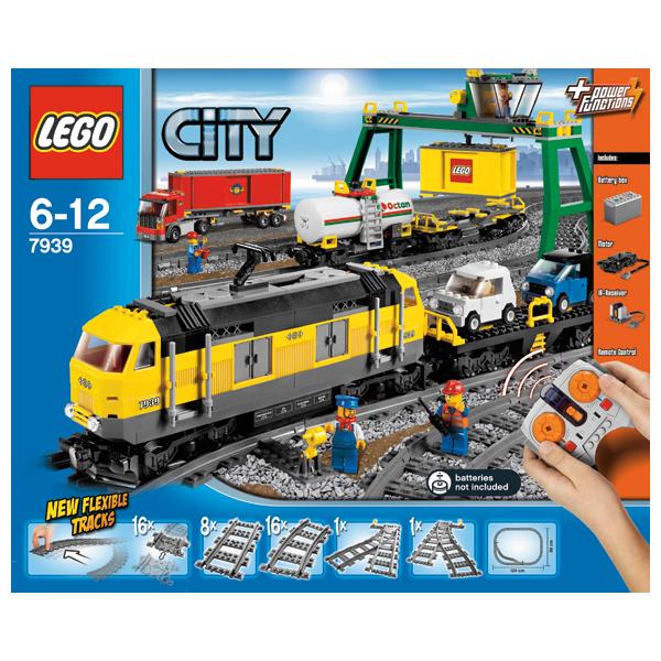 Lego City 7939 Конструктор Лего Город Товарный поезд