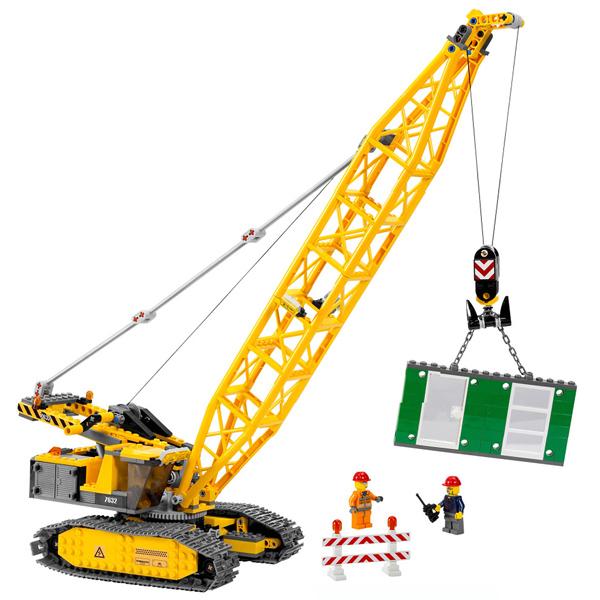 Lego City 7632 Конструктор Лего Город Гусеничный кран