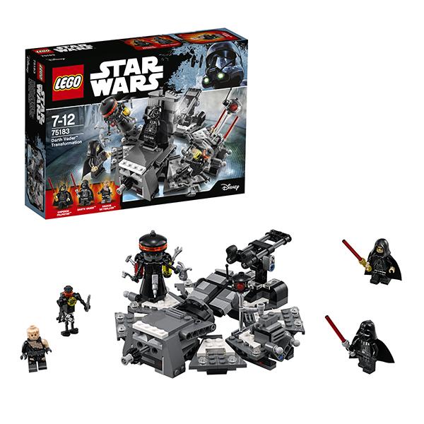 lego lego star wars 75150 лего звездные войны усовершенствованный истребитель сид дарта вейдера Lego Star Wars 75183 Лего Звездные Войны Превращение в Дарта Вейдера