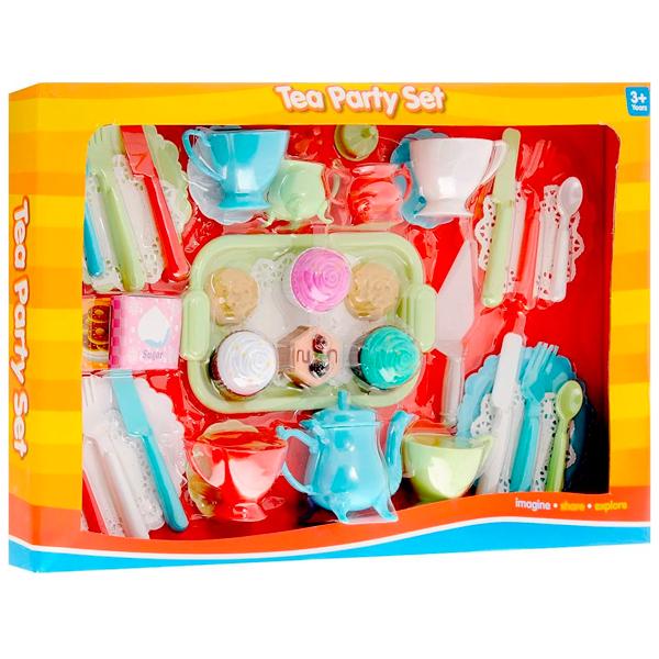"""Boley 74537KM Игровой набор """"Чайная вечеринка"""" 45 предметов"""