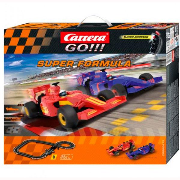Carrera 62413 Автотрек Super Formula на р/у с 2-мя машинками