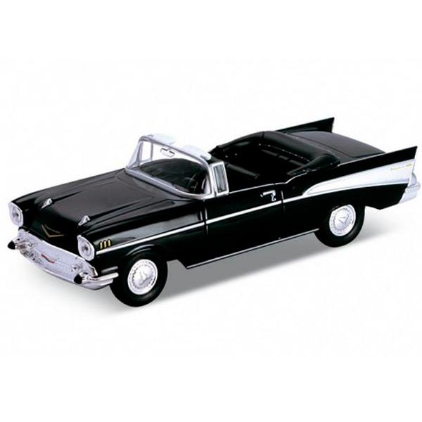 Welly 42357 Велли Модель винтажной машины 1:34-39 Chevrolet Bel Air 1957 maisto модель автомобиля chevrolet bel air 1957 цвет оранжевый