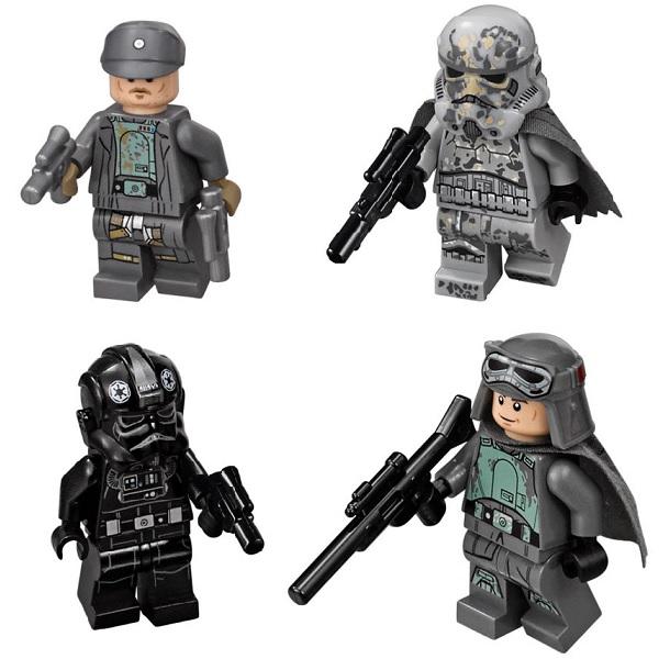 Lego Star Wars 75211 Конструктор Лего Звездные Имперский истребитель СИД