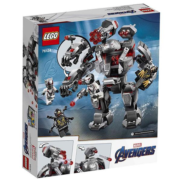 LEGO Super Heroes 76124 Конструктор ЛЕГО Супер Герои Воитель