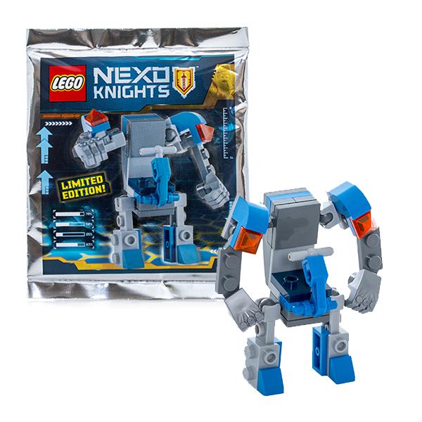 Lego Nexo Knights 271610 Лего Нексо МЕХ БОТ ластики lego набор ластиков 4 шт lego nexo knights рыцари нексо