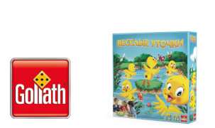 Веселые уточки – познавательна игра от Goliath