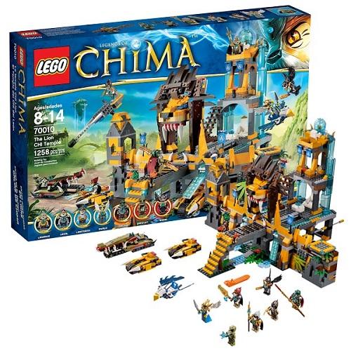 Лего Чима 70010 Храм Чи Клана Львов