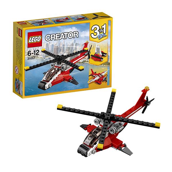 Lego Creator 31057 Конструктор Лего Криэйтор Красный вертолёт lego lego creator 31044 лего криэйтор животные в парке