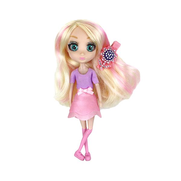 Shibajuku Girls HUN6674 Кукла Шидзуки, 15 см куклы и одежда для кукол shibajuku girls кукла мики 15 см