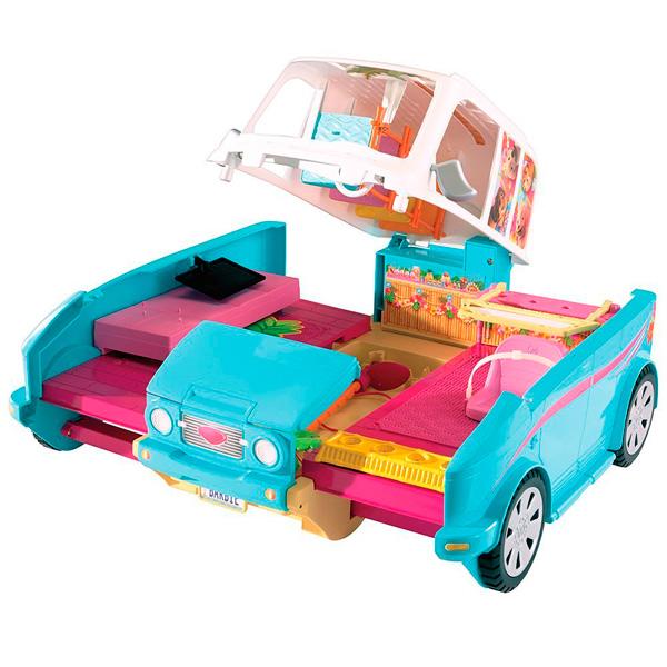 Mattel Barbie DLY33 Барби Раскладной фургон для щенков
