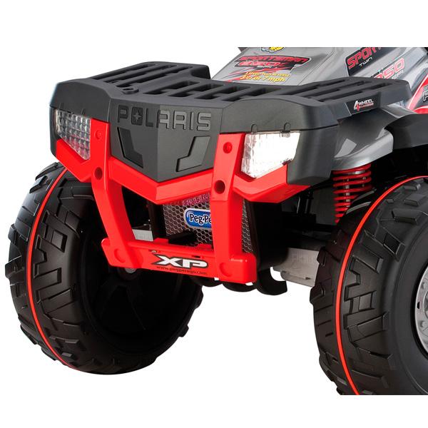 Детский электроквадроцикл Peg-Perego OD05180 Polaris Sportsman 850 silver 2014