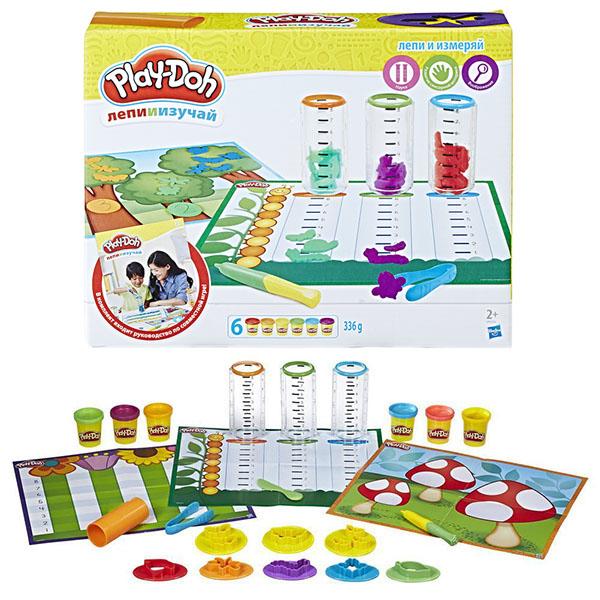 Hasbro Play-Doh B9016 Игровой набор Сделай и измерь play doh игровой набор праздничный торт