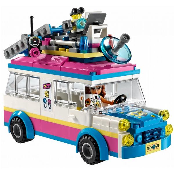Лего Подружки 41333 Конструктор Передвижная научная лаборатория Оливии