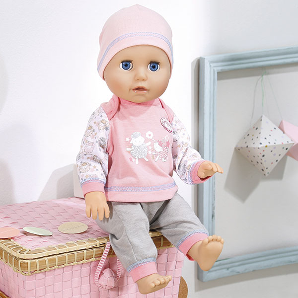 Zapf Creation Baby Annabell 700-136 Бэби Аннабель Кукла Учимся ходить, 42 см