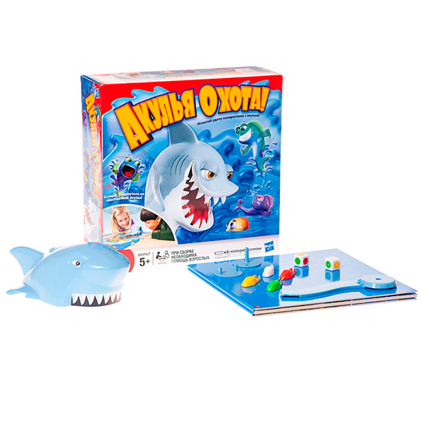 Hasbro Other Games 33893 Игра Акулья Охота