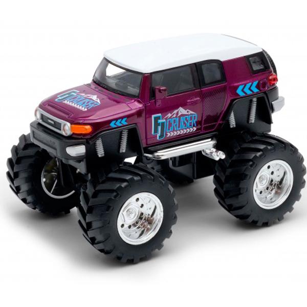 Welly 47003S Велли Модель машины 1:38 Toyota FJ Cruiser Big Wheel Monster машинка welly toyota fj cruiser big wheel monster 47003s