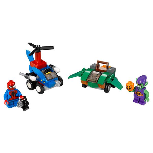 Lego Super Heroes 76064 Конструктор Лего Супер Герои Человек-паук против Зелёного Гоблина