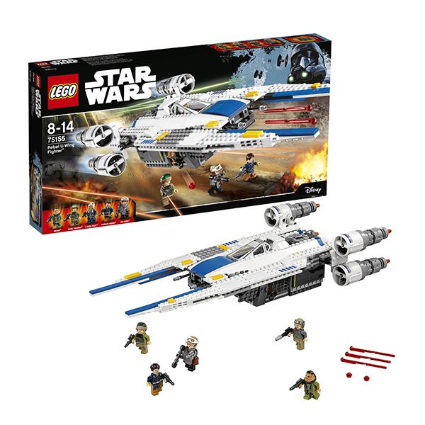 lego lego star wars 75150 лего звездные войны усовершенствованный истребитель сид дарта вейдера Lego Star Wars 75155 Лего Звездные Войны Истребитель Повстанцев U-Wing