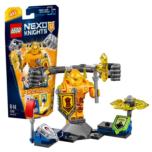 Lego Nexo Knights 70336 Конструктор Лего Нексо Аксель- Абсолютная сила lego nexo knights 70354 лего нексо бур машина акселя